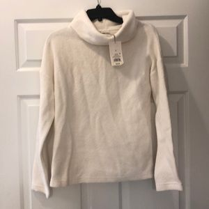 New with tags White turtleneck sweater